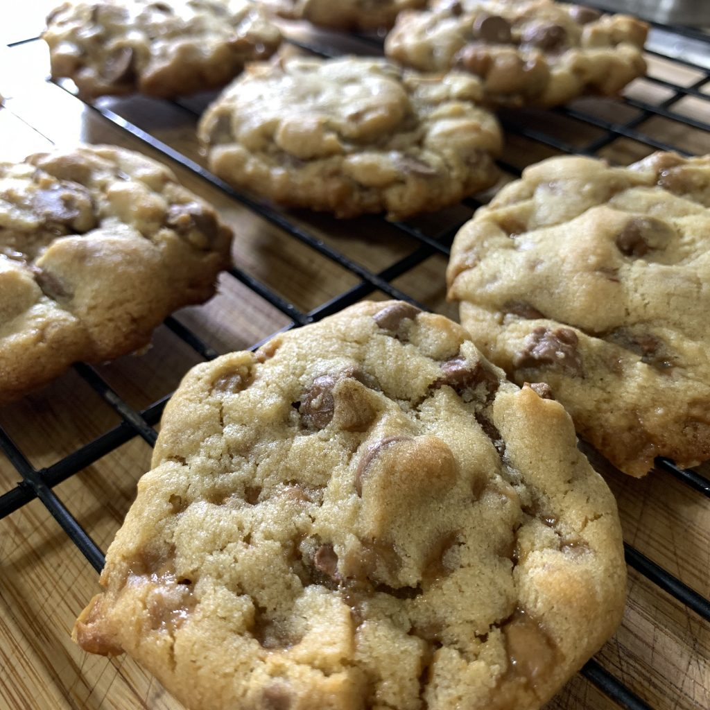 Chocolate chip and score cookies