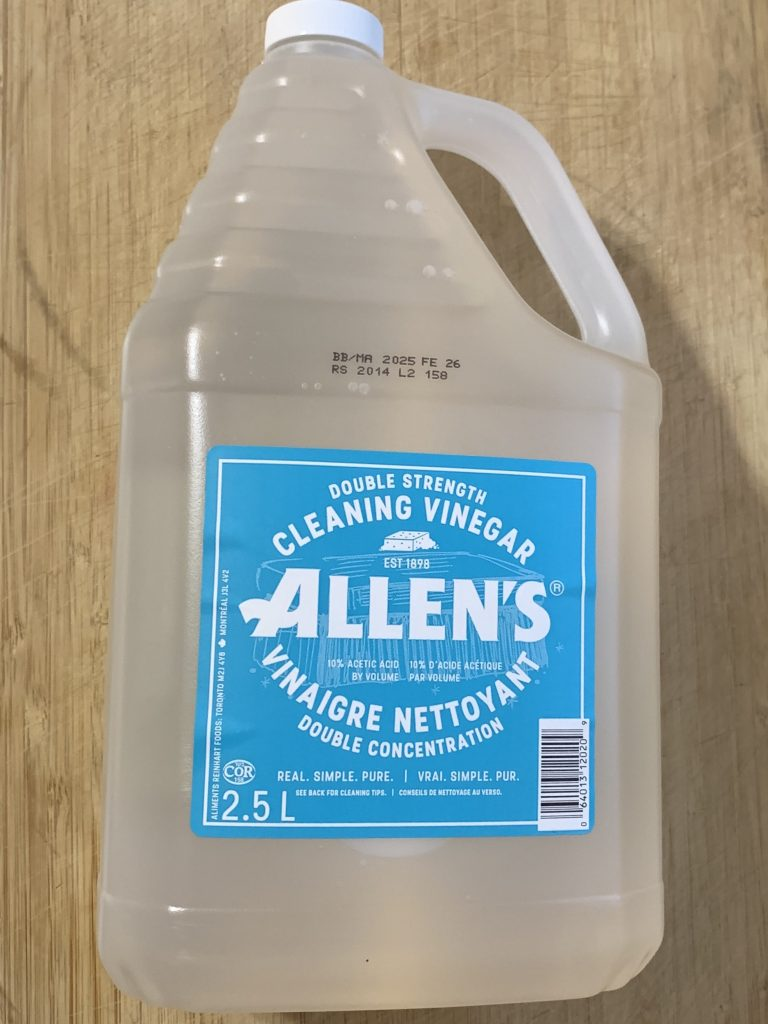 Cleaning vinegar