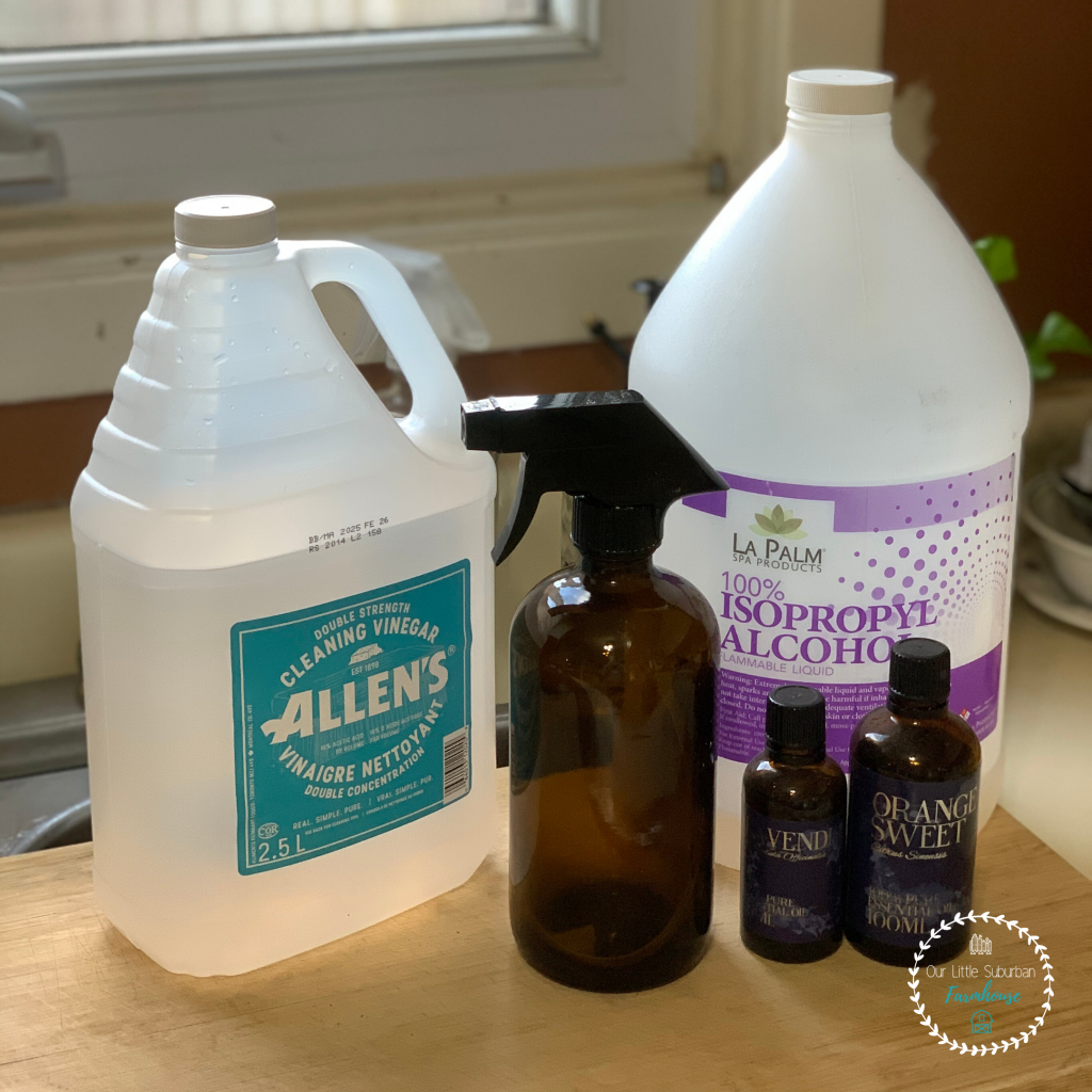 DIY Natural Disinfectant