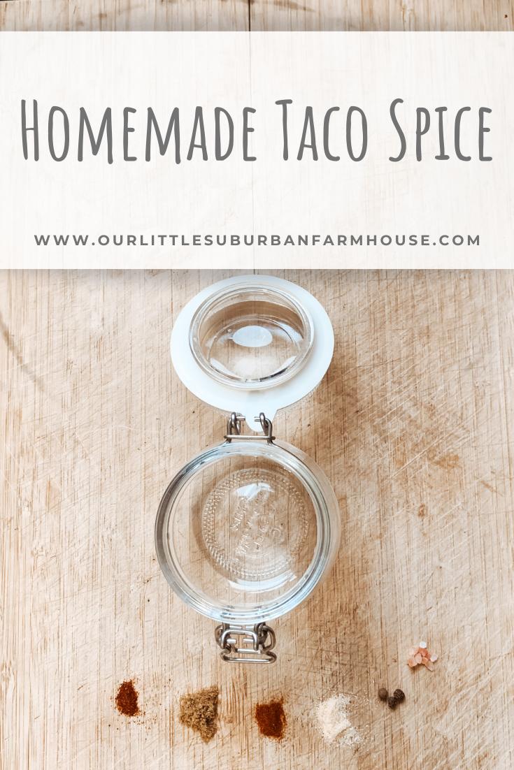 Homemade Taco Spice