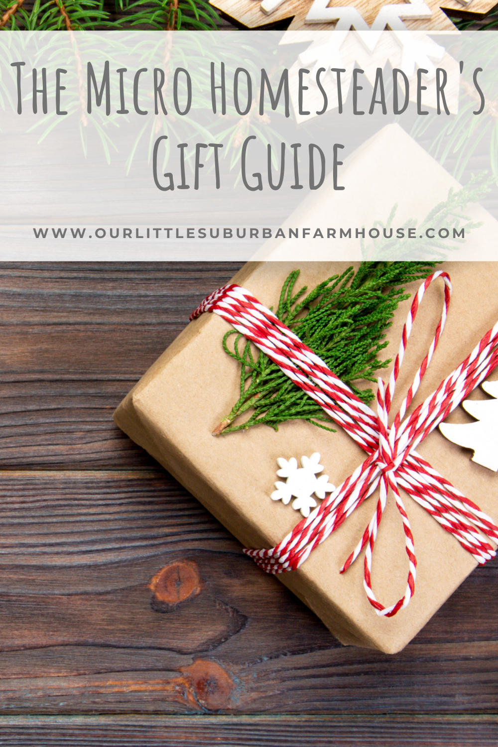 Micro Homesteader's Gift Guide