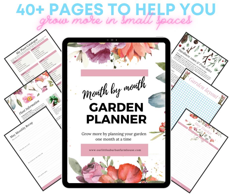 Month to Month Garden Planner