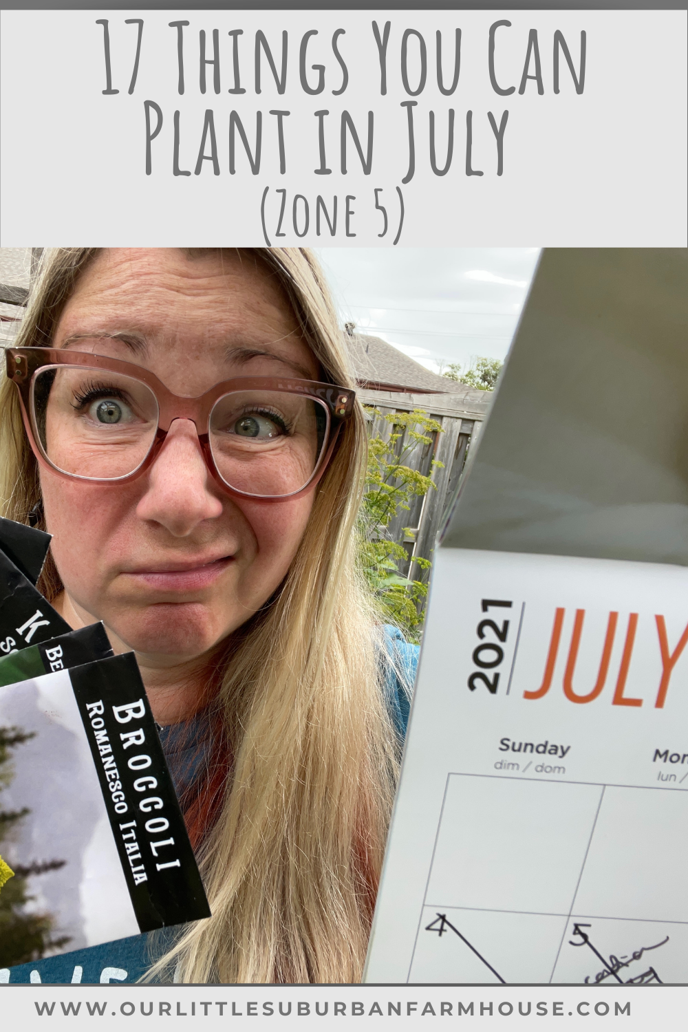 Things to plant in July